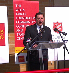 The Salvation Army Ray and Joan Kroc Corps Community Center of Philadelphia Wells Fargo Foundation Community Conference and Training Center Ribbon Cutting