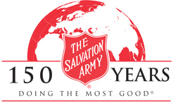 The Salvation Army. 150 Years doing the most good.