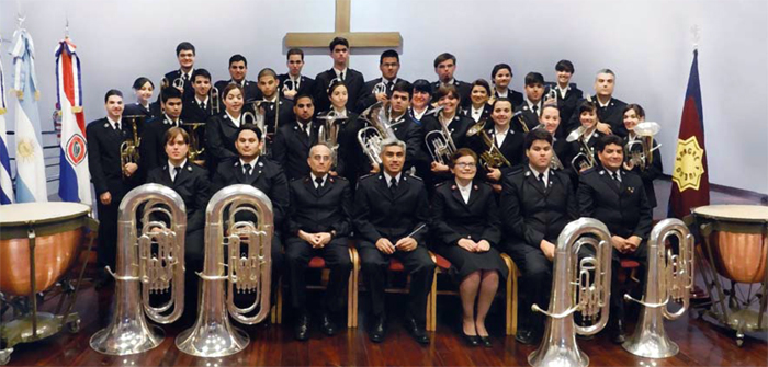 The Salvation Army South America East muscians