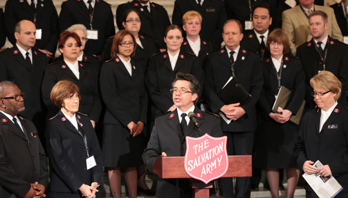 The Salvation Army Visits the Pennsylvania Capitol
